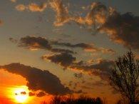 march sunset drama
