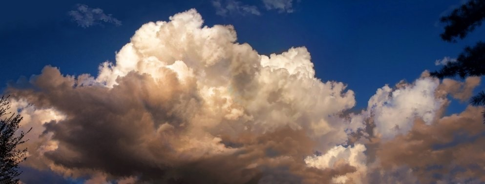 march cumulus clouds