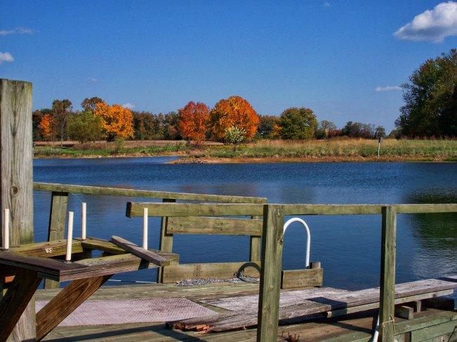 october lakeside veiw
