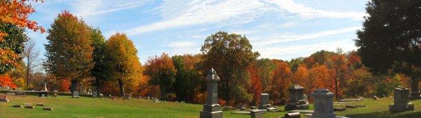 october cemetery visit panorama
