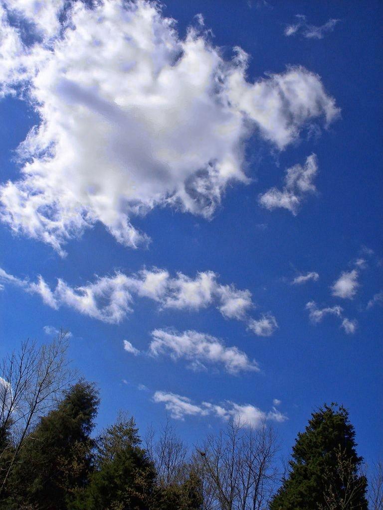nice march sky