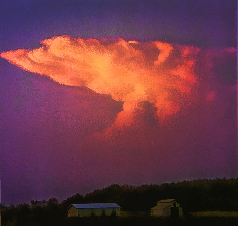 classic anvil cloud